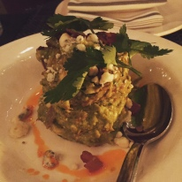 Blue Cheese-Bacon Guacamole at MXDC Cocina Mexicana