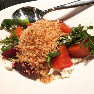 Beet Salad at Graffiato by Mike Isabella