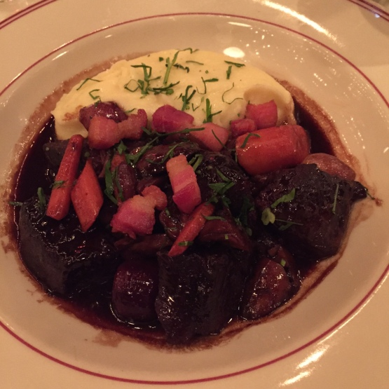 Beef Bourguignon at Le Diplomate