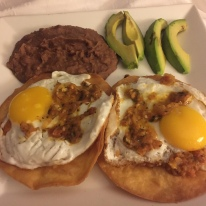 Huevos Rancheros at Grist Mill, Hilton Garden Inn