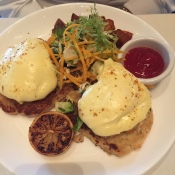Eggs Chesapeake Benny at The Hamilton