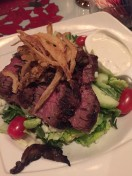 Flank Steak Salad at Martin's Tavern