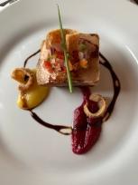 Sous vide pancetta at Gaia Restaurant